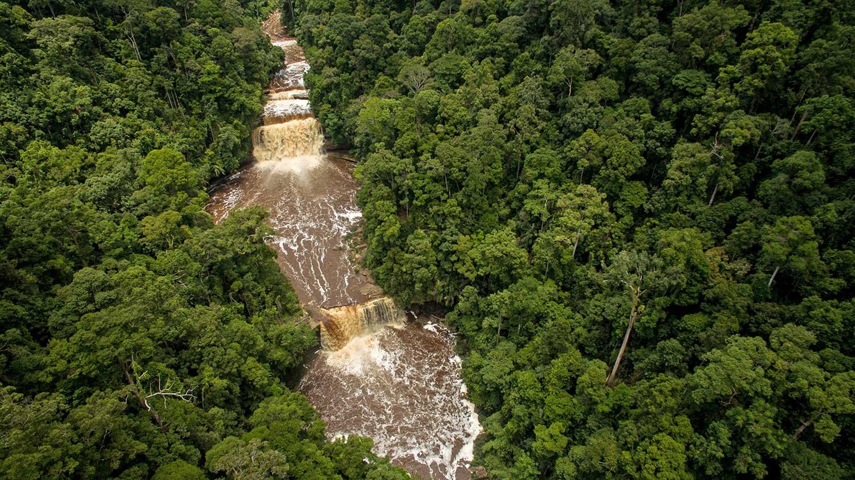 Maliau Waterfall