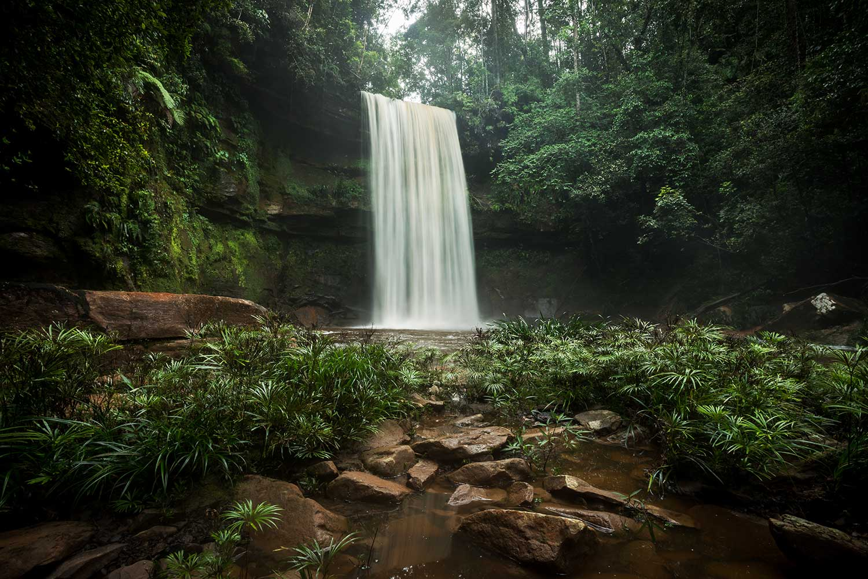 Magnificent Maliau Fowzi Falls