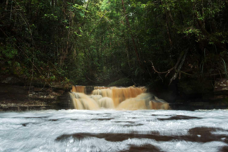 Magnificent Maliau Giluk Falls