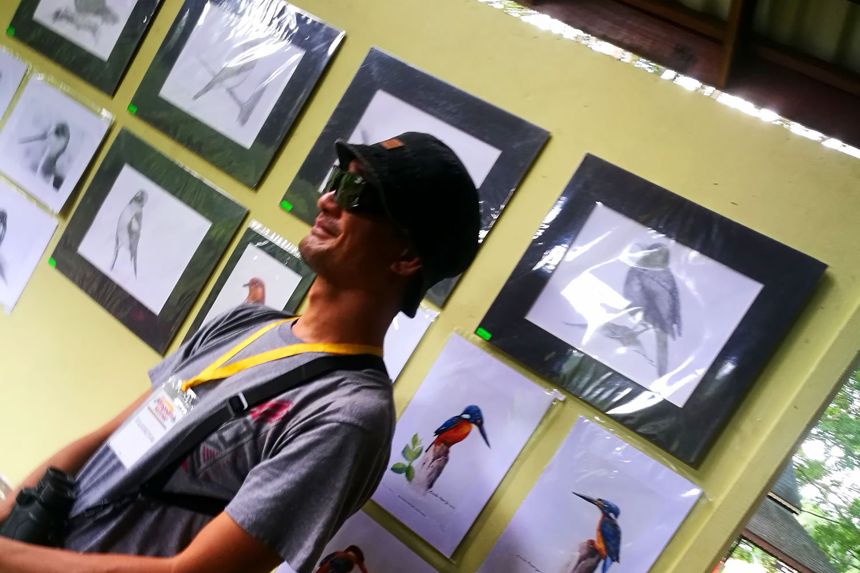 Local Artist Charles Mawan