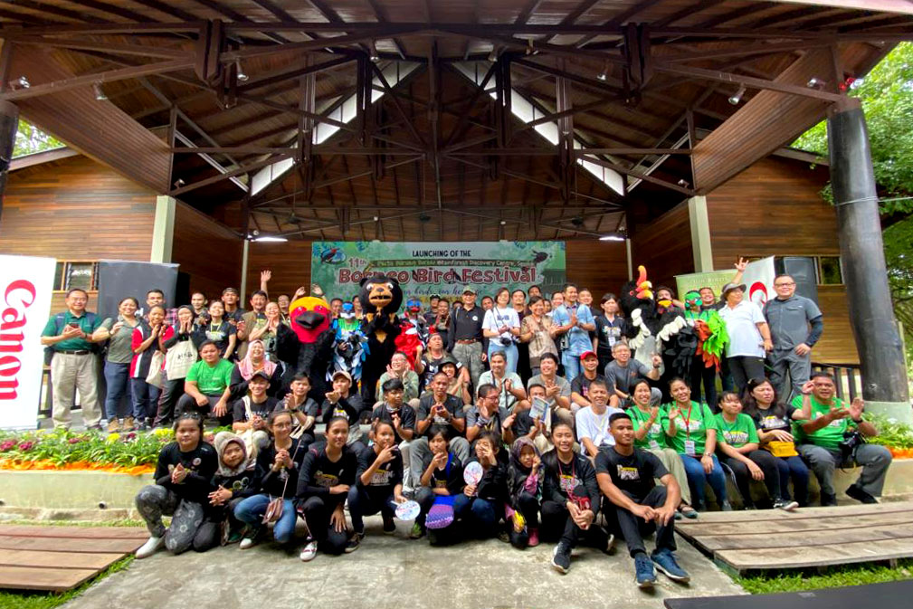 Group photos @ Borneo Bird Festival
