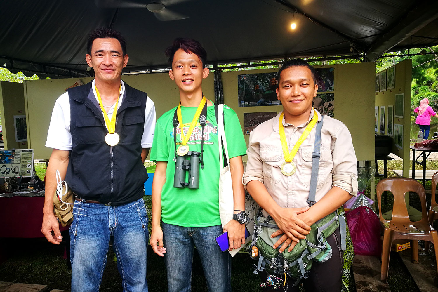 The Team from Tabin Wildlife Resort Won First Place in the Sabah Bird Race