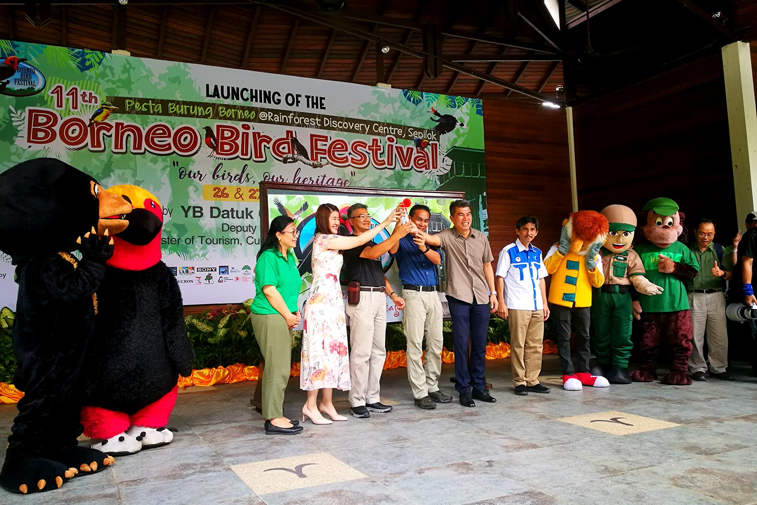 Launching of the Borneo Bird Festival 2019 @ Sandakan